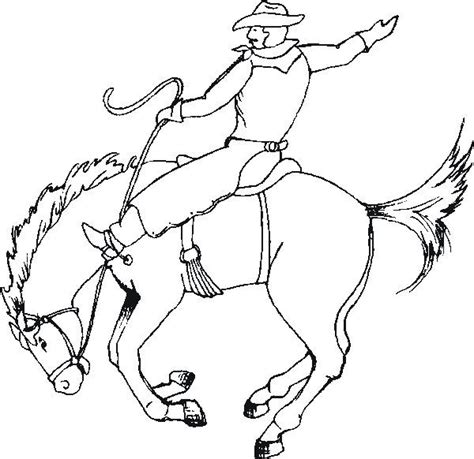 preschool rodeo coloring pages cowboy craft activities for kids preschool theme rodeo