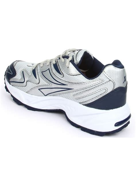 nb sports shoes sparx blue silver running shoes sm20 nb sl