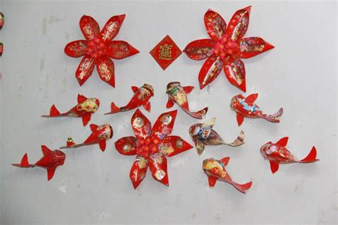 new year ang pow wall decoration welcome in the year of the monkey with cny decors propsocial