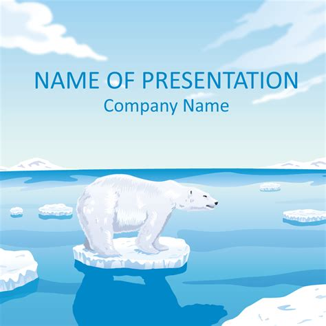 polar template polar powerpoint template nature powerpoint