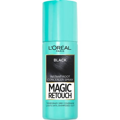 Bq4 Hair Spray Clear 75ml l or 233 al magic retouch instant root concealer spray black 75ml free shipping