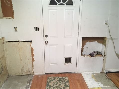 Front Door Reinforcement Stand Out Construction Front Door Reinforcement Protection From Burglar Kick Ins