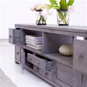 Vanity With Lots Of Drawers Mindi Wood Tv Stand Miro Television Cabinet Tikamoon