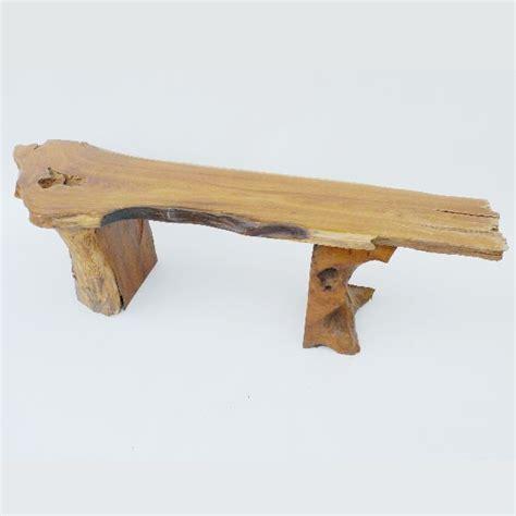 teak root bench teak root bench from spirithouse ca wood furniture