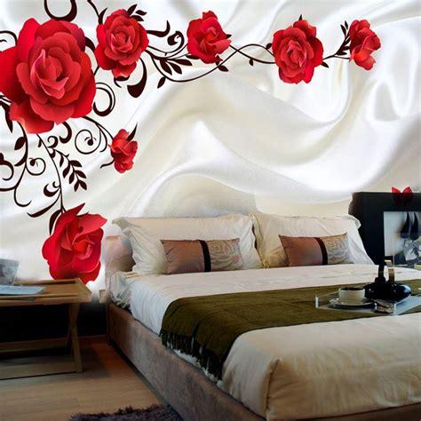 romantic bedroom wallpapers 3d stereo custom romantic backdrop living room tv wall