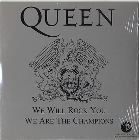 We Will Rock You Sweater we will rock you we are the chions silver p s 5 quot cd single 5521282 we will