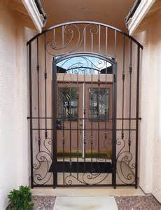 Wine Cellar Doors Wrought Iron - courtyard entry gates artistic iron works ornamental wrought iron specialists