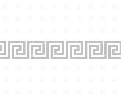 pattern greek vector classic greek pattern vector image 664 rfclipart