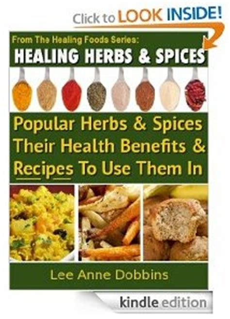 free e book healing herbs and spices plus recipes and