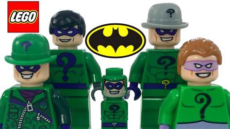 Batman The Lego Batman Collection lego riddler batman villain minifigure collection