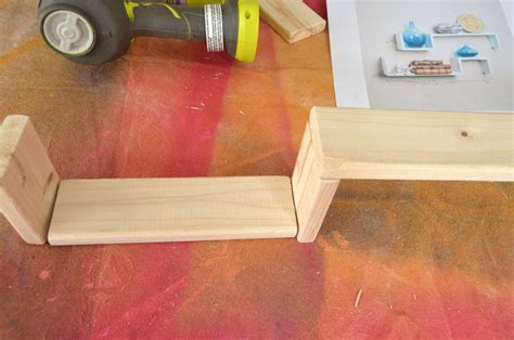 how to build s shelves for 10 create and babble