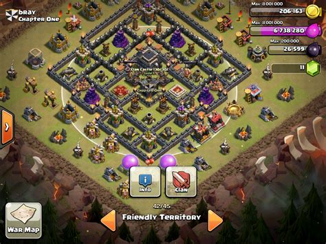 clash of clan th 9 war base clash of clans town hall level 9 war base www imgkid com