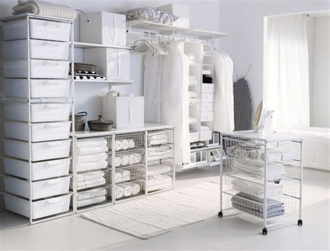 closet solutions ikea metal rolling cart with storage bins rolling cart in