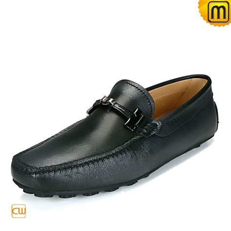 designer loafers mens designer leather driving loafers cw740031