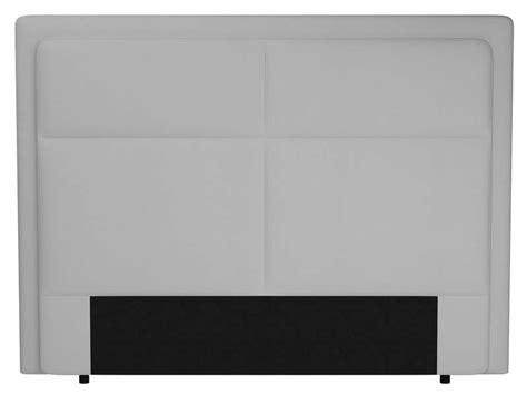 t 234 te de lit 200 cm electra coloris blanc vente de t 234 te