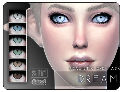 sims 4 realistic eyes dream realistic eye mask by screaming mustard at tsr