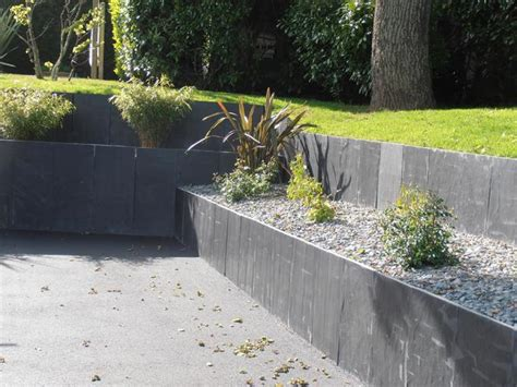 Création maintien de talus Jardin St nazaire   www
