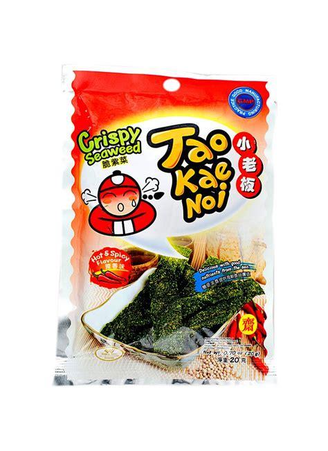 B26 Tao Kae Noi Crispy Seaweed 15g tao kae noi crispy seaweed spicy pck 15g klikindomaret