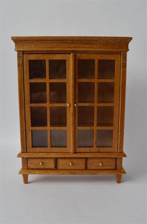 famous doll houses dollhouse famous maker furniture 1006 mission style bookcase ebay
