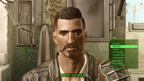 hair and face models fallout 4 thicker beards fallout 4 mod download