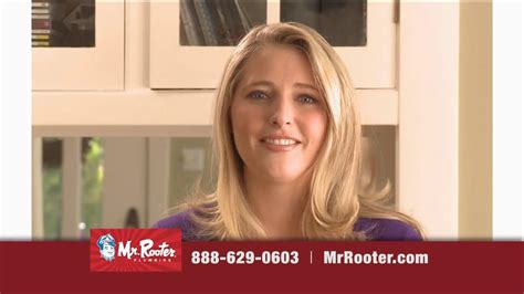 commercial woman plumber mr rooter plumbing tv commercial scout ispot tv
