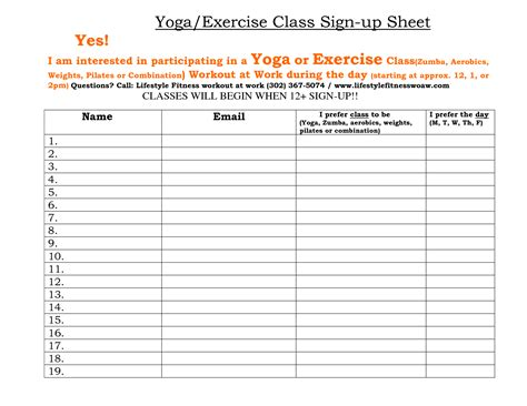 class sign up sheet template portablegasgrillweber com