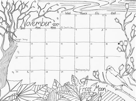 december calendar coloring pages november and december 2017 free calendar coloring pages