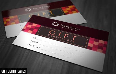 Gift Card Template Free Psd by Gift Cards Psd Template Choice Image Certificate Design