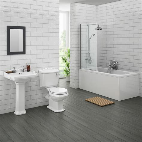 legend traditional bathroom suite at plumbing uk