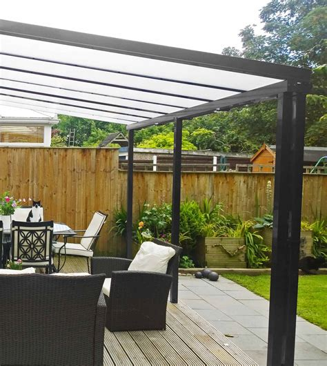 Carports And Canopies by Anthracite Grey Canopies And Carports The Canopy Shop