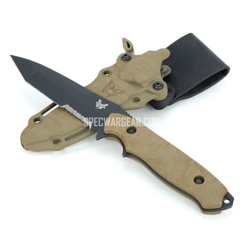 fixed blade benchmade nimravus fixed blade knife usmc fsbe ii