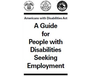us department of justice civil rights division disability rights section a guide for persons with disabilities seeking employment