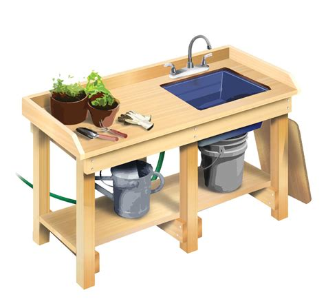 gardening work benches 20 garden work bench with sink 25 best ideas about garden