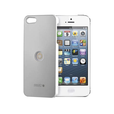 h iphone 5s mountr for iphone 5 5s aluminum gray co1 i5g b h photo