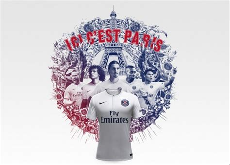 Jersey Psg 201415 germain 2014 15 nike away kit football
