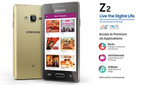 Samsung Z2 samsung z2 launched in india running tizen os priced at rs 4590