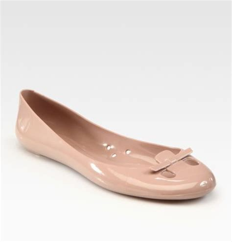 Marc Jelly Ballet Pumps by Marc Mouse Jelly Ballet Flats In Pink Lyst