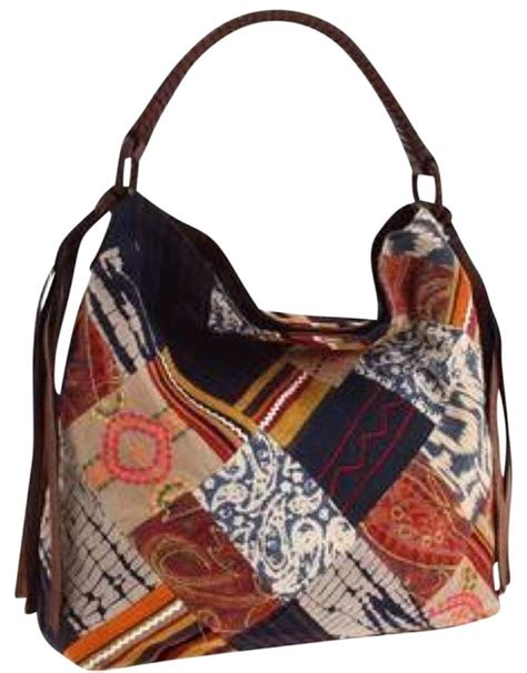 Lucky Brand Patchwork - lucky brand echo park patchwork slouch hobo bag tradesy