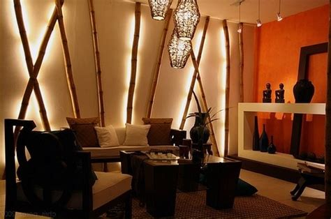 ideas  decorative bamboo poles