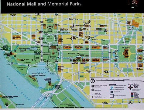 washington dc map of national mall image gallery national mall map