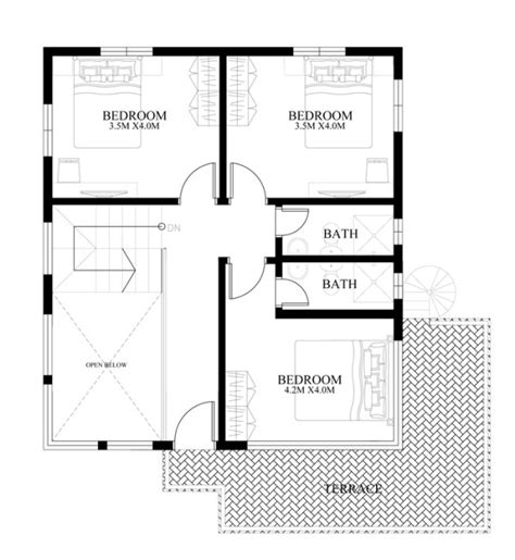 two story house plans series php 2014004 pinoy house plans modern house designs series mhd 2014010 pinoy eplans