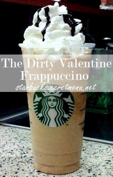 secret starbucks frappuccino valentines and java on