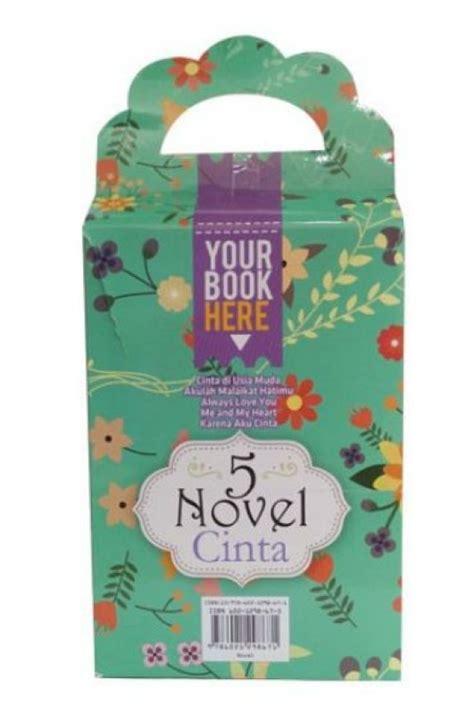 Box Paket 5 Novel Anak Paling Keren bukukita box paket 5 novel cinta toko buku