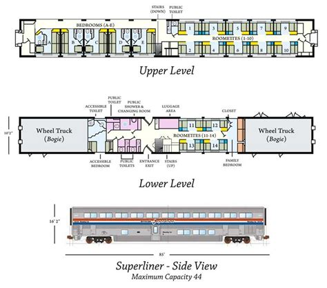 superliner floor plan amtrak superliner sleeper car layout 2017 2018 best