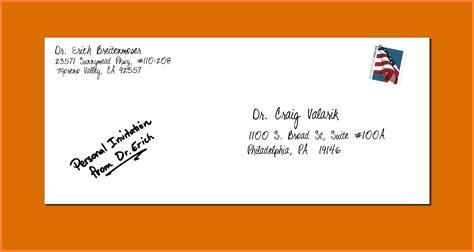 Sending A Letter Envelope