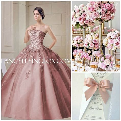 rose themed dress quince theme decorations quinceanera ideas dusty rose