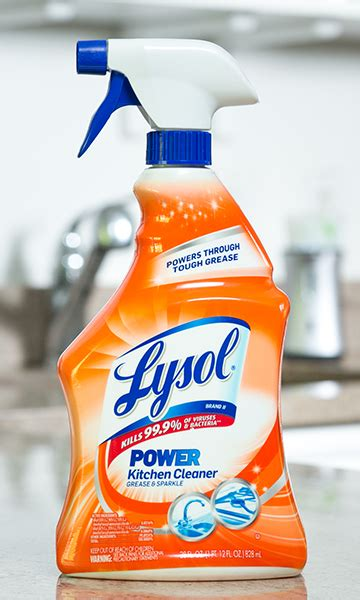 Best Kitchen Cleaner by Lysol Power Kitchen Kills 99 9 Of Viruses And Bacteria