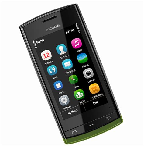 500 price mobile nokia 500 price in india 226 new stylish touchscreen