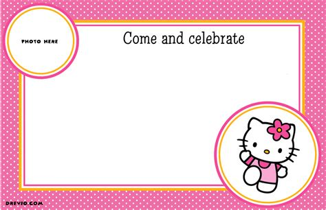 Hello Birthday Invitations Templates free personalized hello birthday invitations