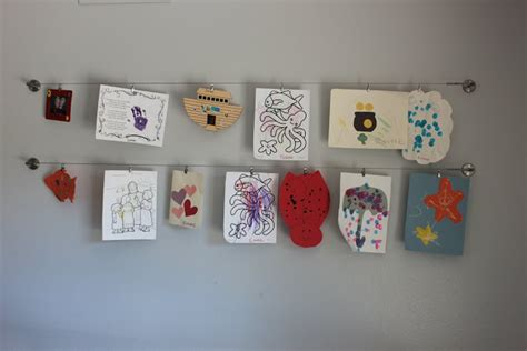 display art how to creatively display your child s art work glam o mamas